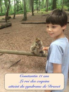 Photo de Nassim 11 ans atteint du syndrome de Dravet - Le roi des coquins Constantin
