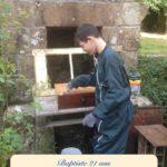Le jardin n'a plus de secret pour lui Baptiste 21 ans atteint du syndrome de Dravet