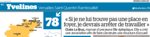 Témoignage de Claire Le Bras Présidente de l'association EPI IdF