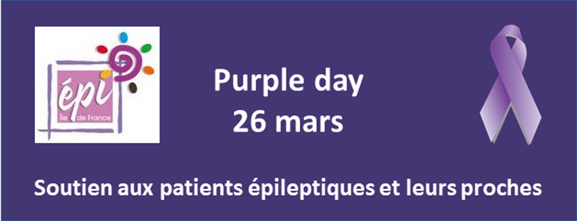 Purple Day - 26 mars